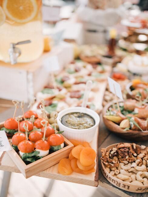 Nieuwjaarsborrel met buffet