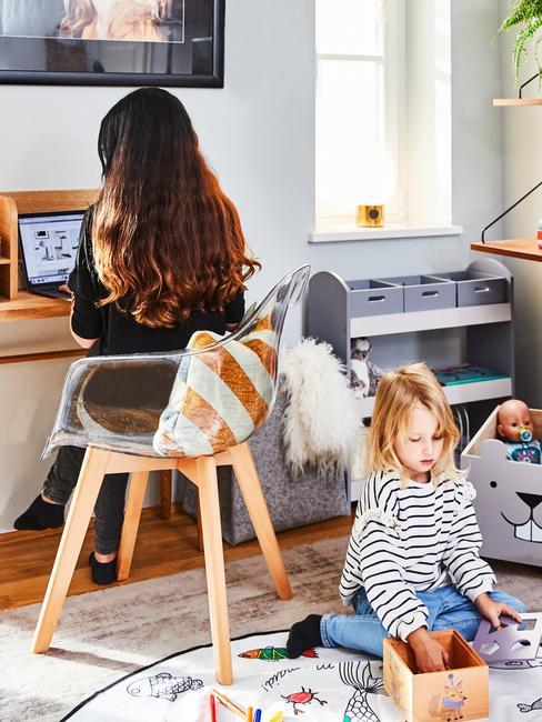 Homeoffice met kinderen thuis