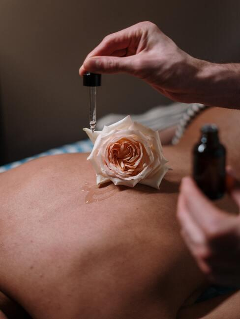 Olie voor huidverzorging