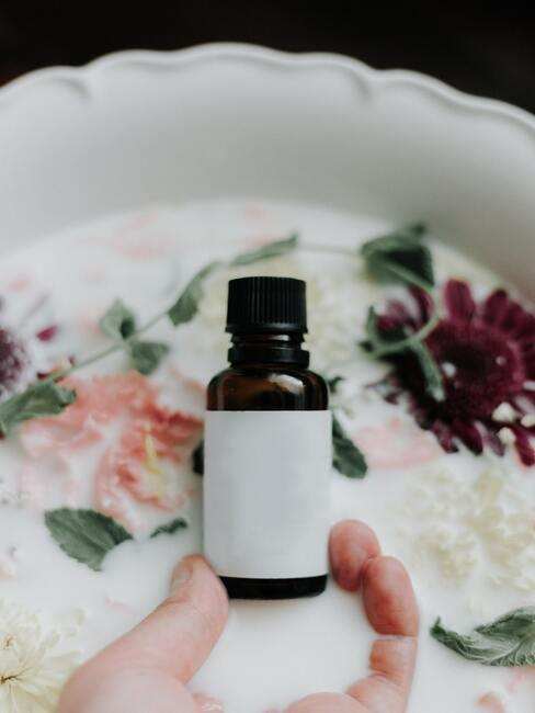 Olie voor lichaams- en haarverzorging