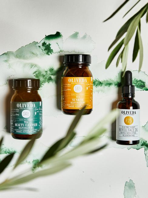 oliveda potjes met beauty vitamine