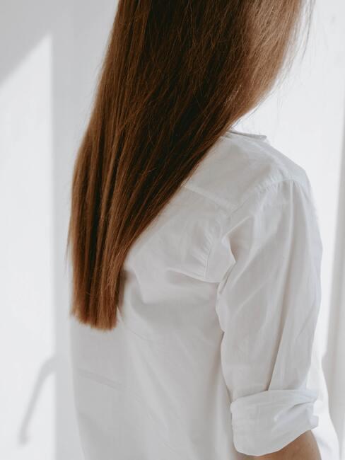 lang haar na een haarmasker