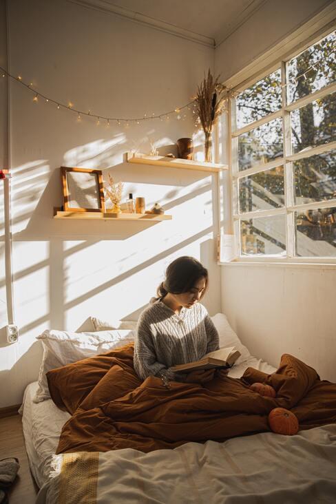 zorg voor voldoende daglicht in je huis voor een verbetering van het binnenklimaat