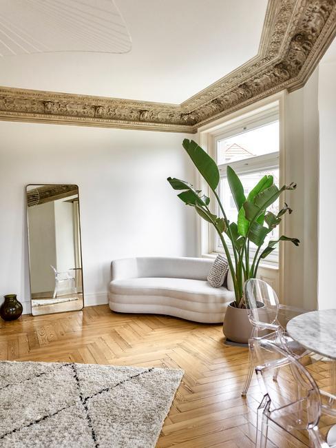 luchtvochtigheid in huis met groene planten