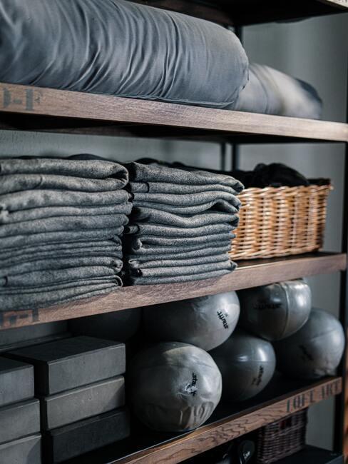 Trainingsaccessoires en handdoeken