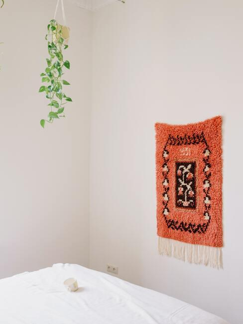 Decoratief object in slaapkamer