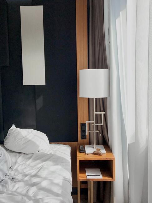 kussen wassen: slaapkamer in grijs