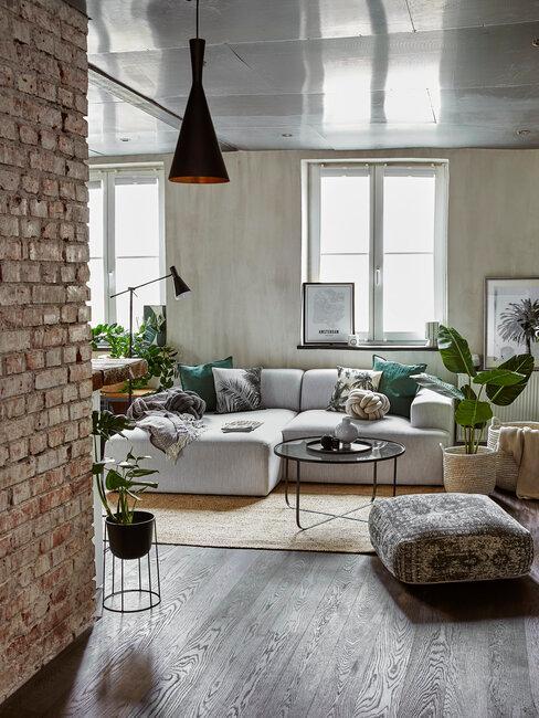Loft in Amsterdam foto Westwing voorbeeld woonkamer