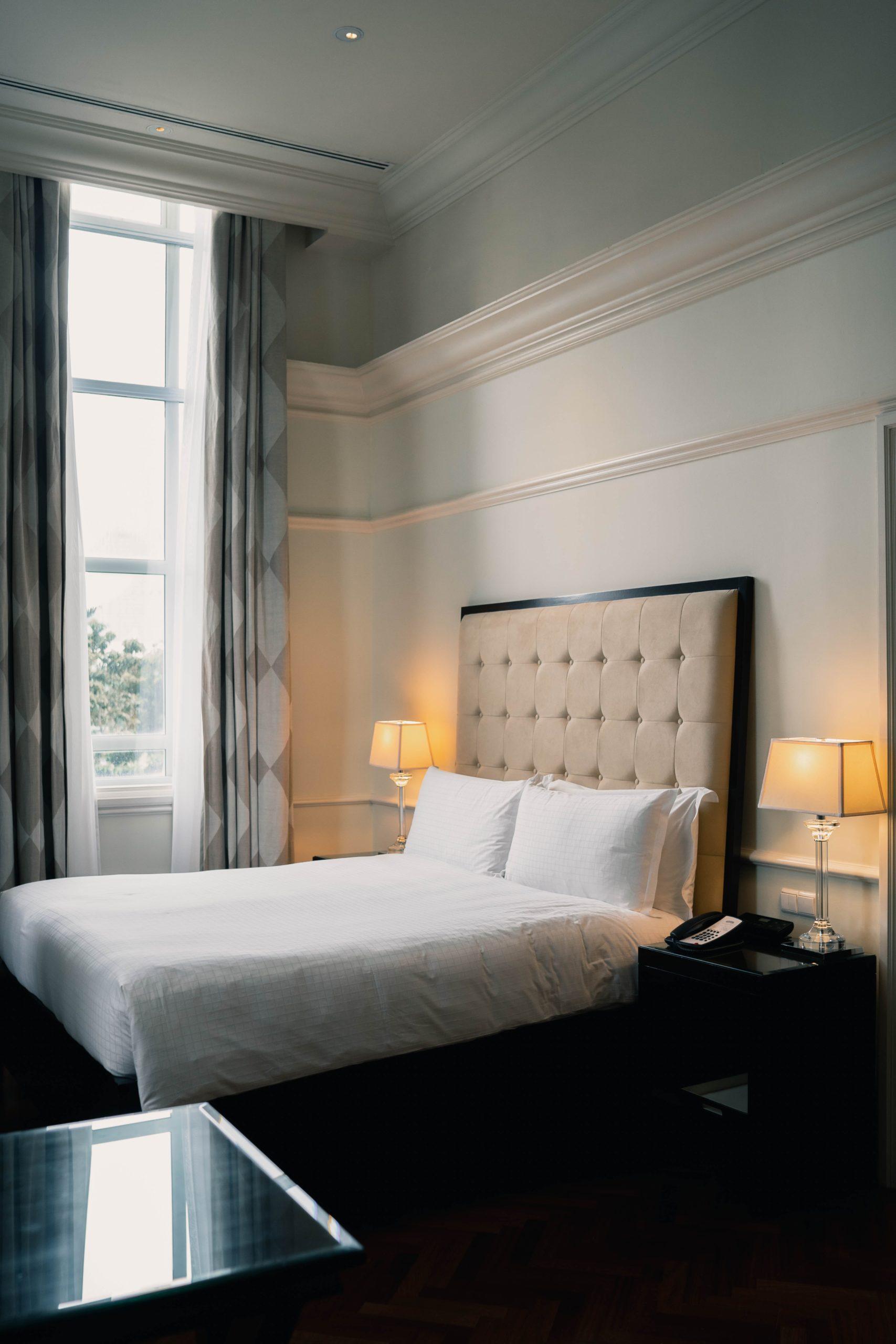 slaapkamer in een design hotel