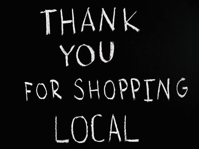 support your locals - thank you for shopping local