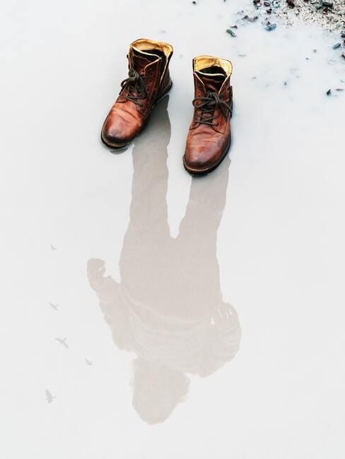 Leren schoenen verzorging