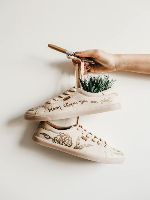 Schoenen als decoratief object