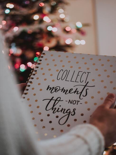 journaling: je plannen voor het nieuwe jaar opschrijven