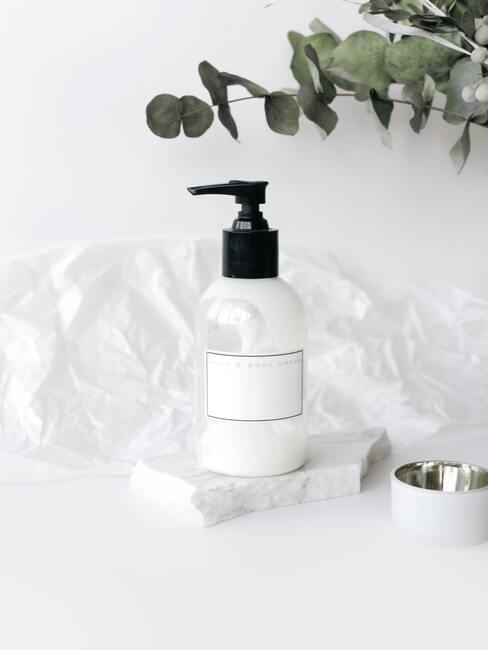 zeep om het kussen mee te wassen
