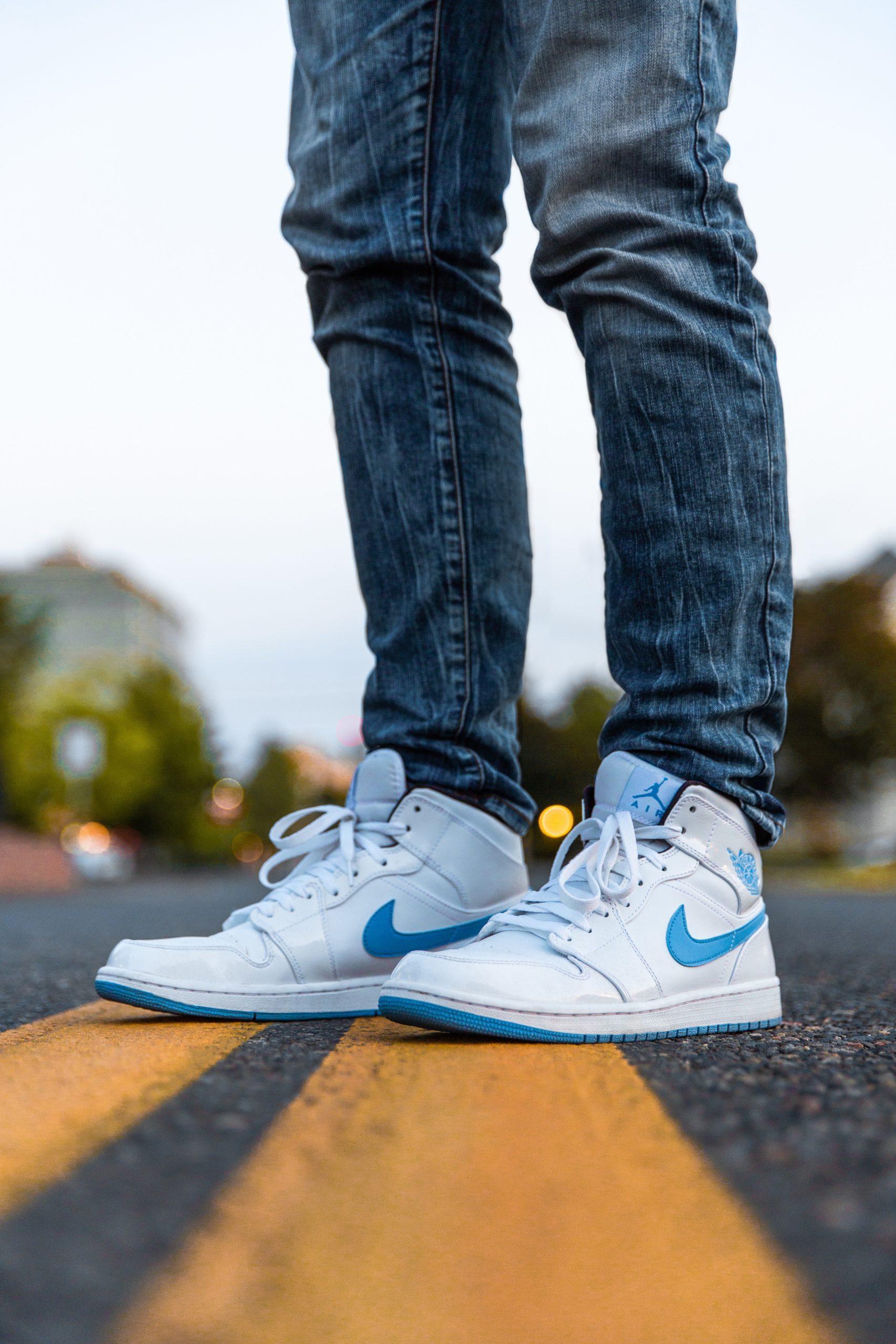 Schone witte sneakers Nike