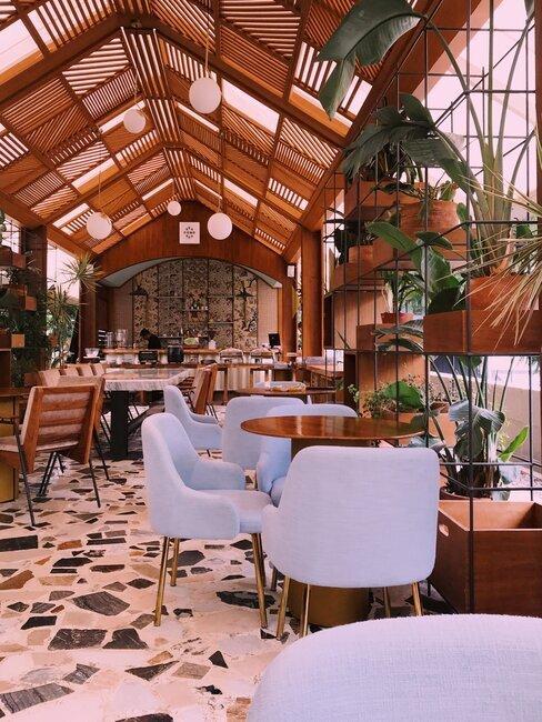 lobby van een hotel