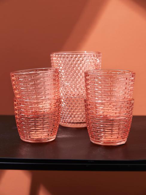 Oranje glazen