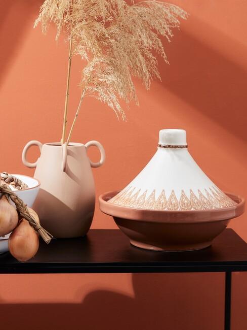 Terracotta accessoires