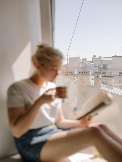 Lezen in de ochtend