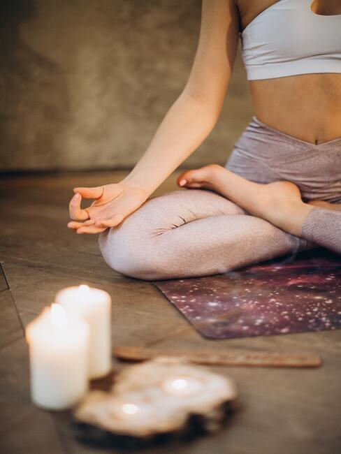 Mediteren in de ochtend