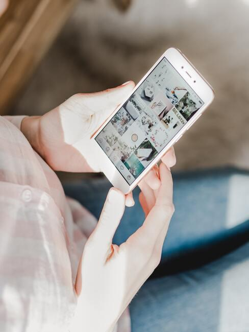 Teveel social media gebruik