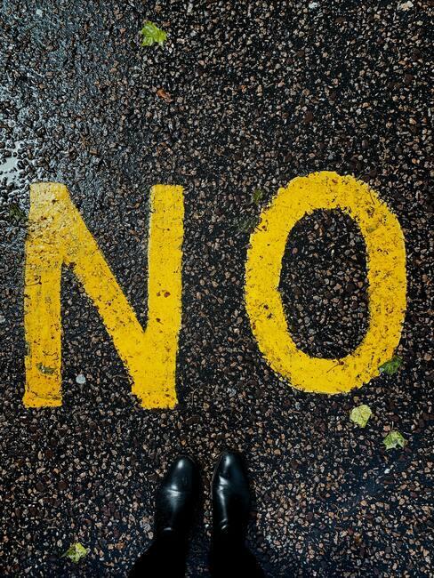Durf nee te zeggen