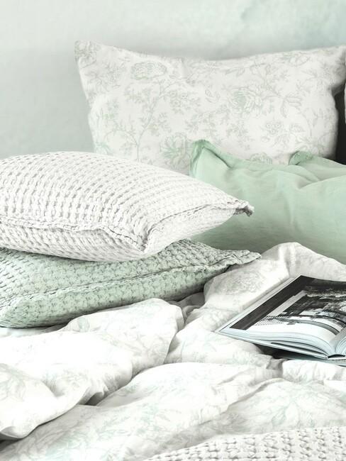 slaapkamer lichtblauw groen 2