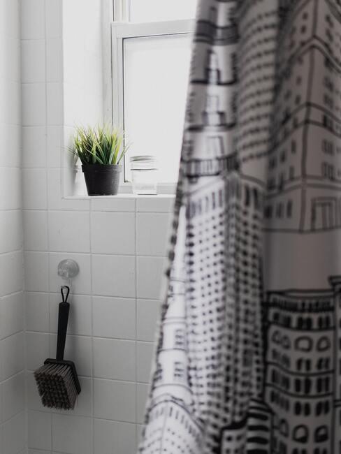 badkamer douche gordijn