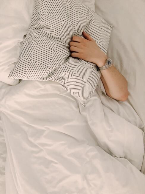 wit linnen zonder patroon