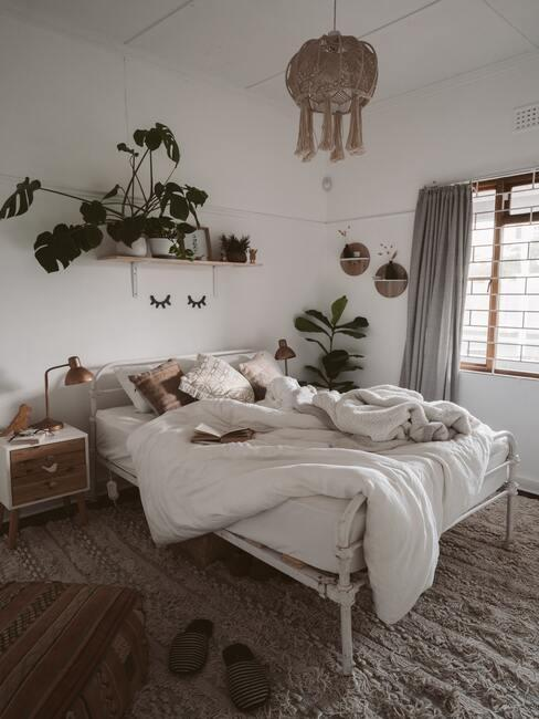 zelf bed maken in boho stijl
