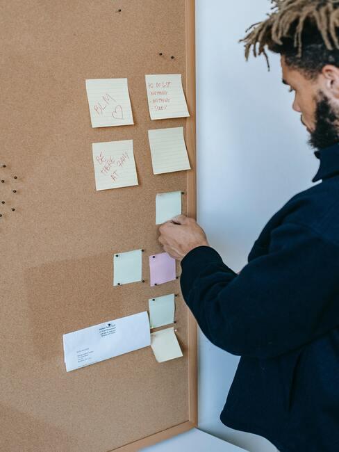 visionboard: belangrijke opmerkingen over een kurkbord