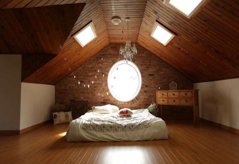Duurzame slaapkamer met veel natuurlijke producten