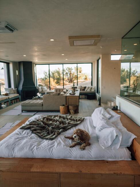 natuurlijke slaapkamer
