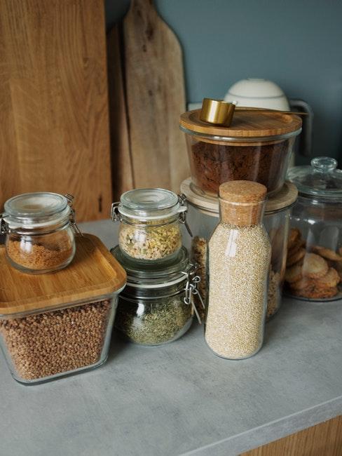 containers voor voedselopslag