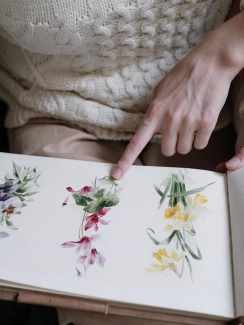 zelf een herbarium maken