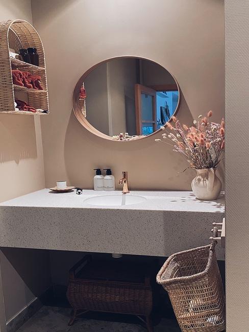 Badkamer van liesbeth de Puysseleier