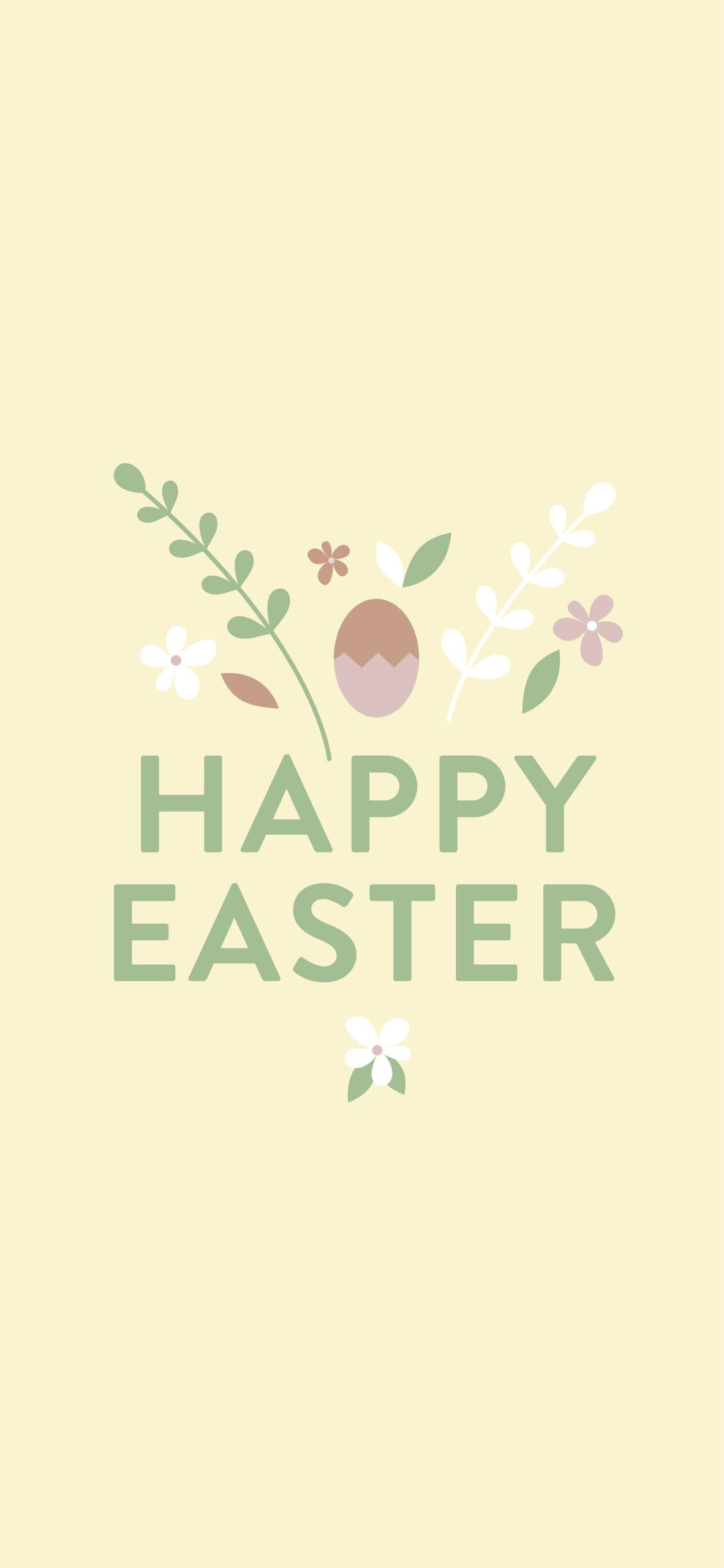 Paas achtergrond happy easter