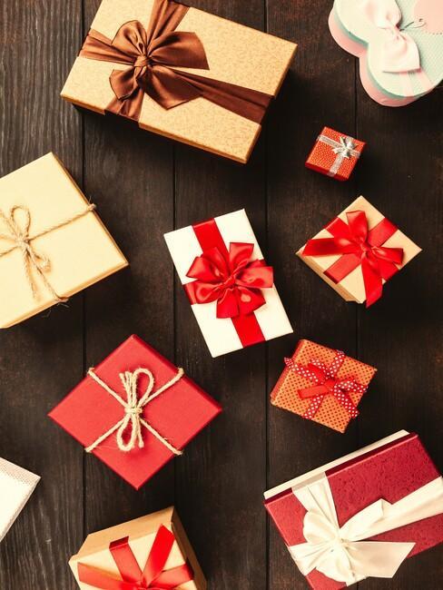 cadeau's ingepakt