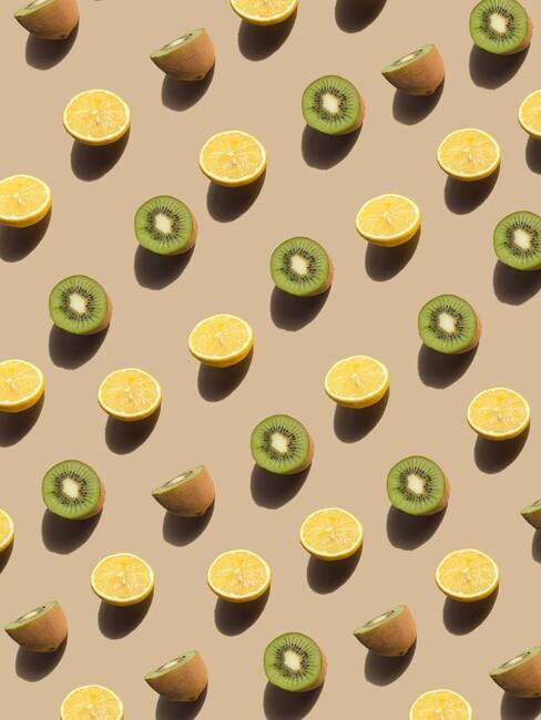 kiwi's en sinaasappels