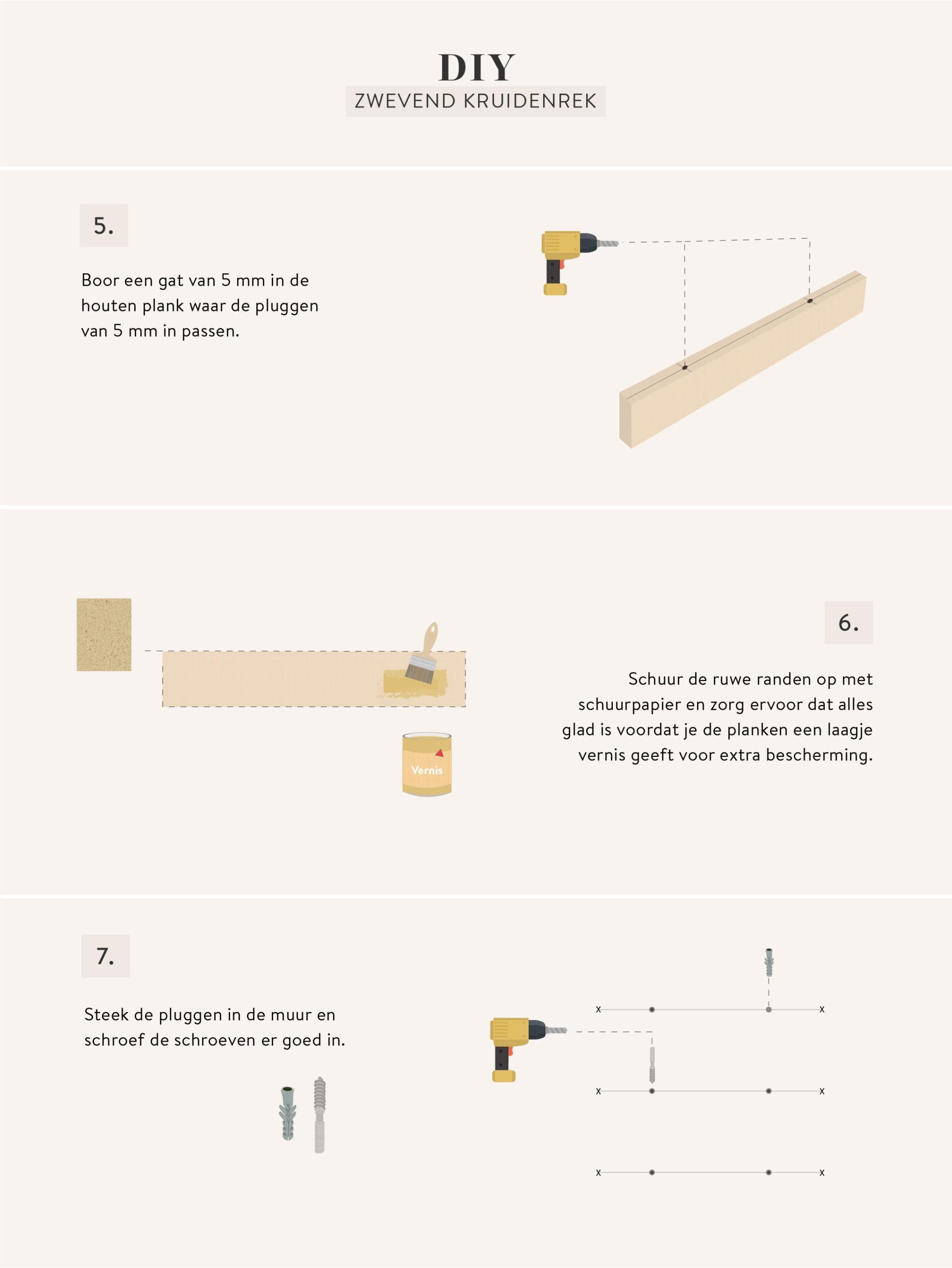 kruidenrek maken graphic