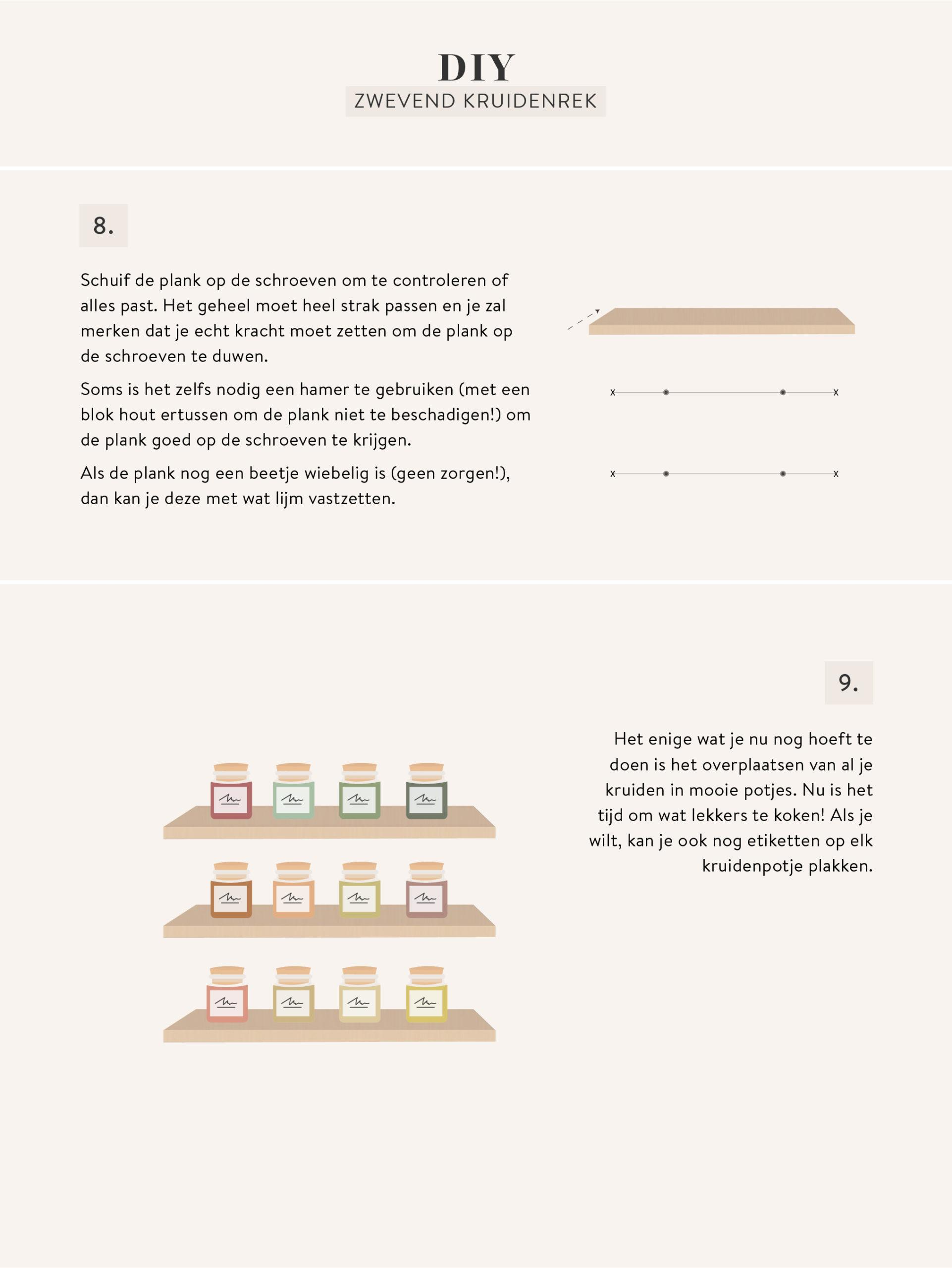 kruidenrek zelf maken in graphic