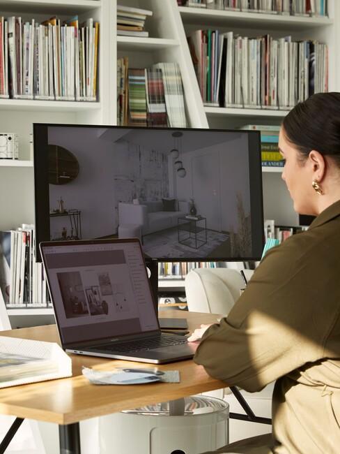 digitaal ontwerp op computer