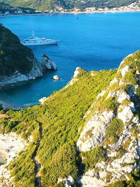 Vakantie in de bergen en zee van Griekenland
