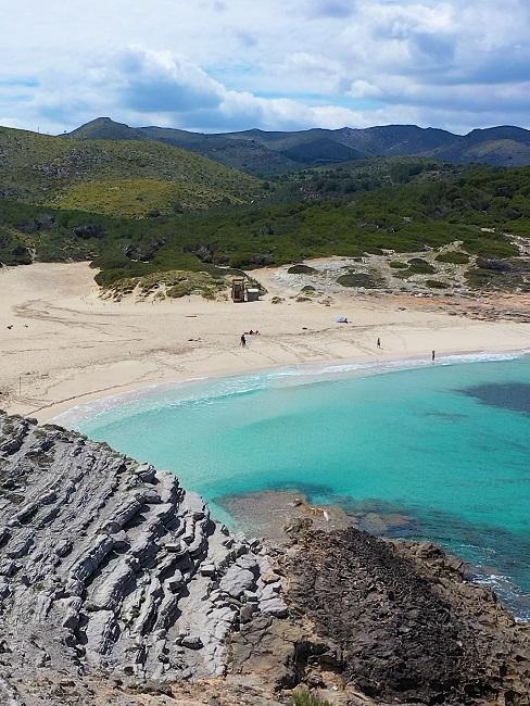 Vakantie op Mallorca landschap en zee