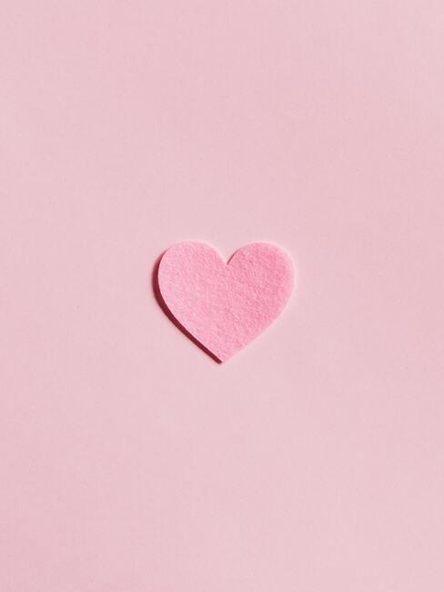 roze hartje