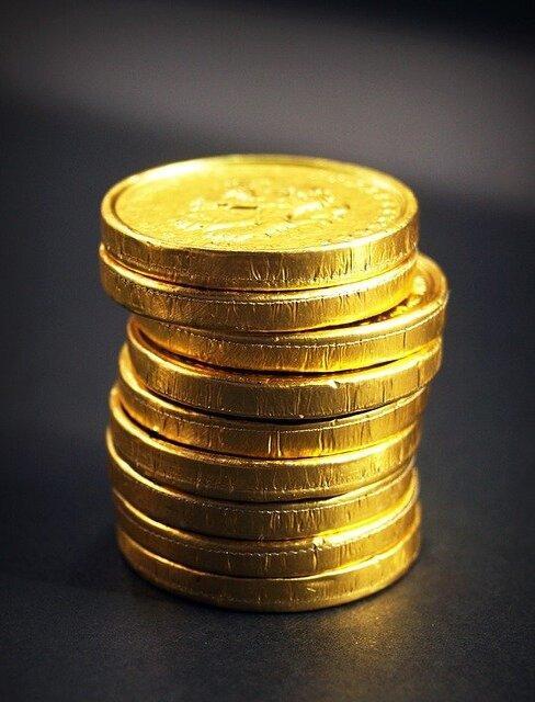 gouden muntjes