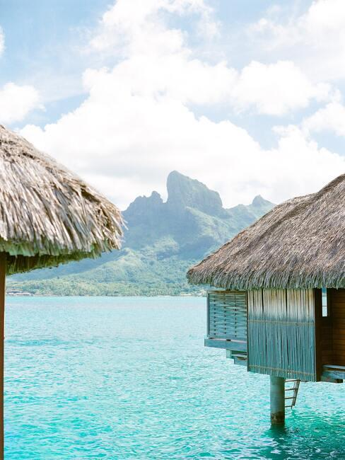 huisjes in het water