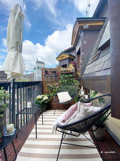 verticaal tuinieren op balkon