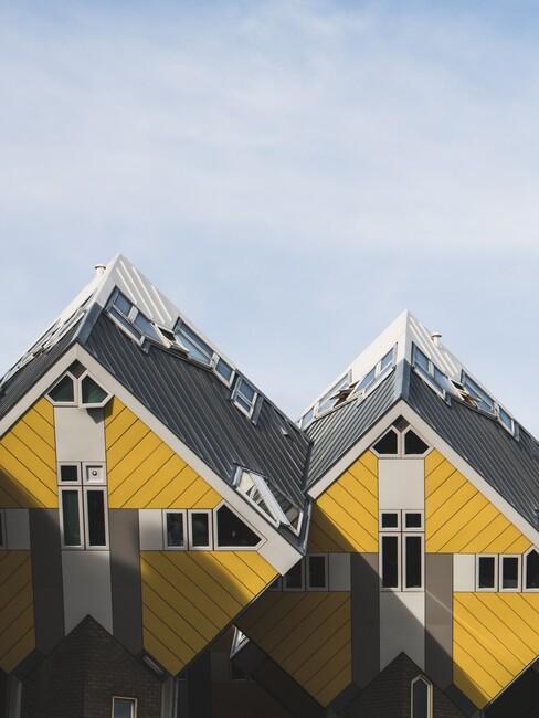 kubushuisjes in Rotterdam