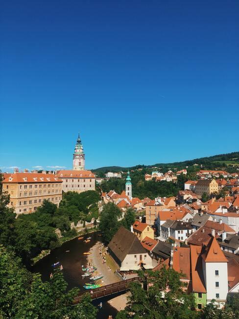 Český Krumlov in Tsjechië
